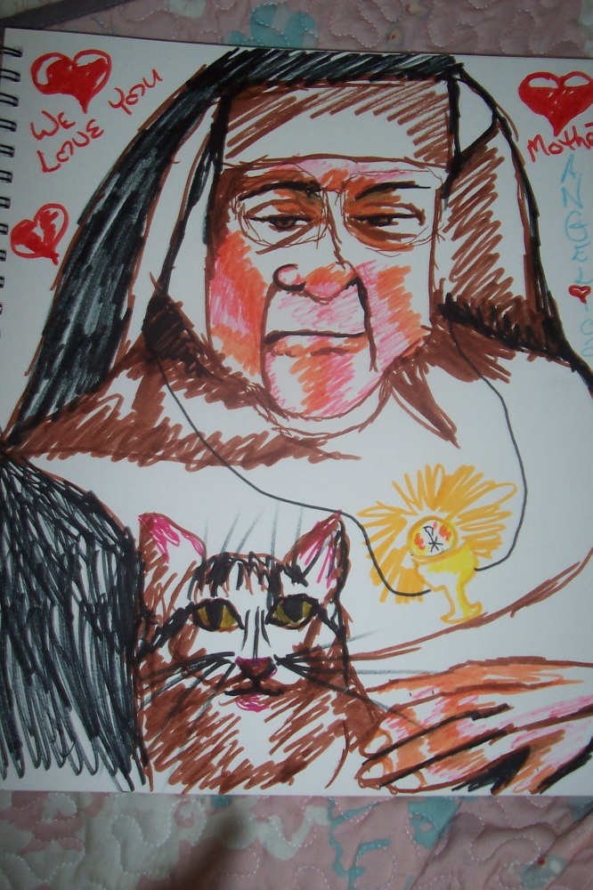 Mother Angelica by cindykron